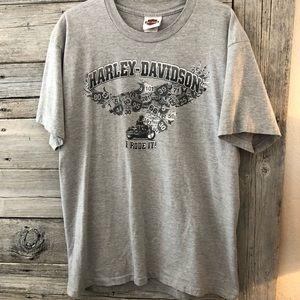 Harley-Davidson Men's Shirt Fairbanks Alaska Large